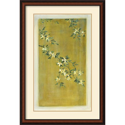 Plum Blossoms I Framed Print by Paris Gerrard