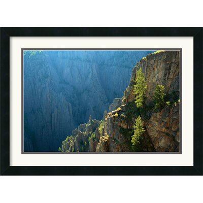 Amanti Art Black Canyon Morning Framed Print by Andy Magee