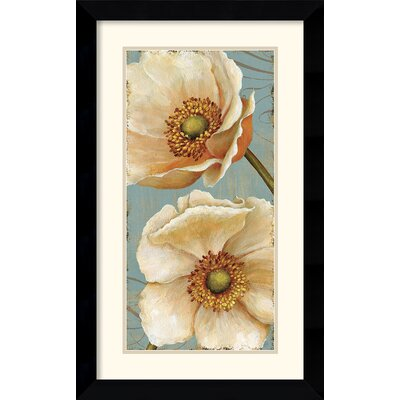 Windflower I Framed Print by Daphne Brissonnet