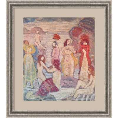 Amanti Art Eight Bathers Framed Print Wall Art