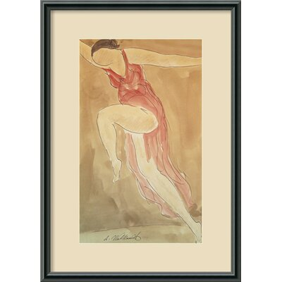 Woman Dancing, 1919 Framed Print Wall Art