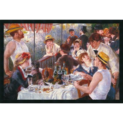 Amanti Art Luncheon of the Boating Party (Dejeuner Des Canotiers) Framed Print Art