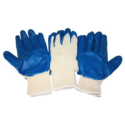 Cordova Splash Latex Coating Natural Shell Glove (Pack of 3)