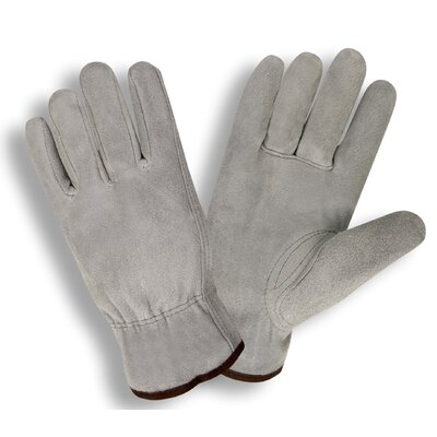 Cordova Select Split Cow Driver Glove in Gray
