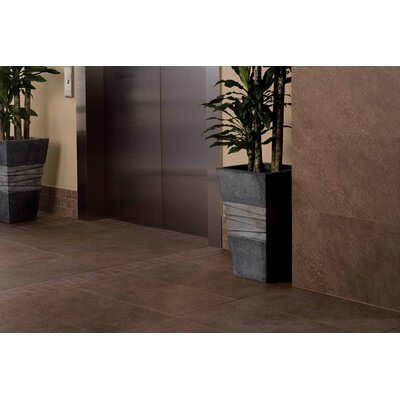 "American Olean Allora 3"" x 3"" Unpolished Porcelain Mosaic Tile in Marrone"