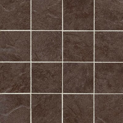 "American Olean Shadow Bay 11-15/16"" x 11-15/16"" Colorbody Porcelain Mosaic in Fishing Pier"