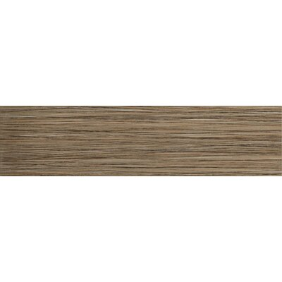 "Emser Tile Strands 3"" x 12"" Horizontal Bullnose in Chestnut"