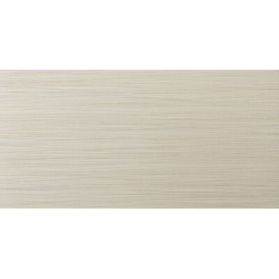 "Emser Tile Strands 12"" x 24"" Porcelain Floor Tile in Oyster"
