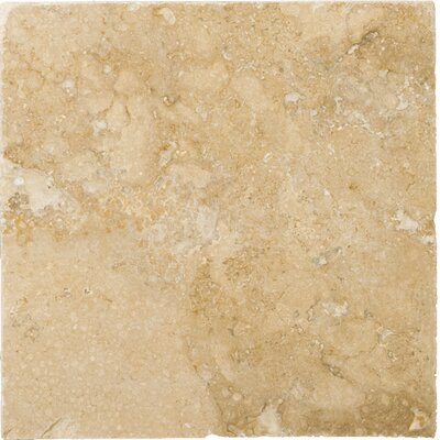 "Emser Tile 2"" x 2"" Vino Travertine Mosaic in Noce"