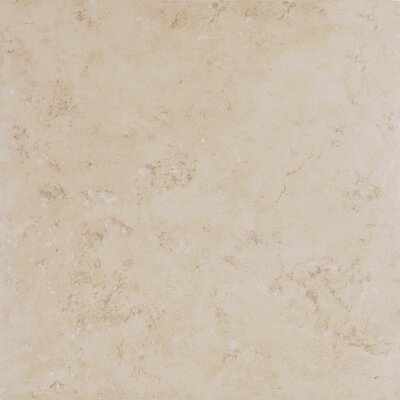 "Emser Tile Belgio 20"" x 20"" Glazed Porcelain Tile in Beige"