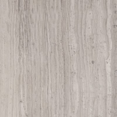 "Emser Tile Metro 12"" x 12"" Honed Marble Tile in Gray"
