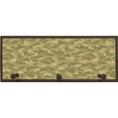 Illumalite Designs Camouflage Wall Plaque with Wooden Pegs