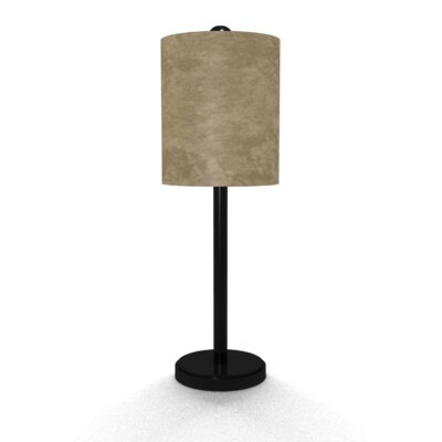 Illumalite Designs Suede Table Lamp