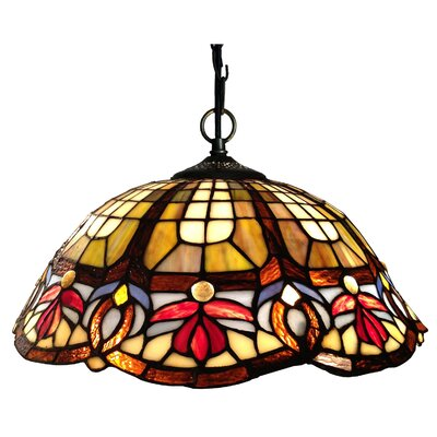 Chloe Lighting Chloe Lighting 2 Light Victorian Large Hanging Pendant