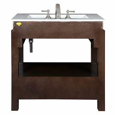 Silkroad Exclusive Stanton 36 Single Bathroom Vanity Set