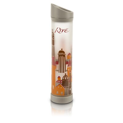 Rive Savoy 16 Oz Prague Glass Water Bottle