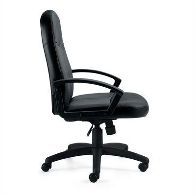 Offices To Go High-Back Leather Managerial Chair