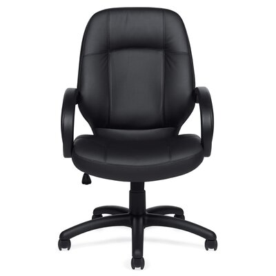 Offices To Go High-Back Luxhide Executive Chair