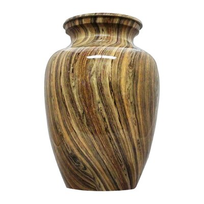 UrnsDirect2U Weathered Woody Aluminum Adult Urn