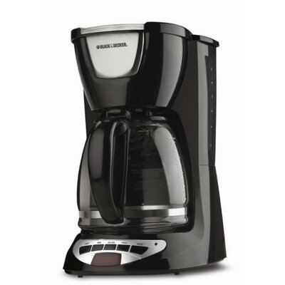 Black & Decker 12 Cup Programmable Coffee Maker