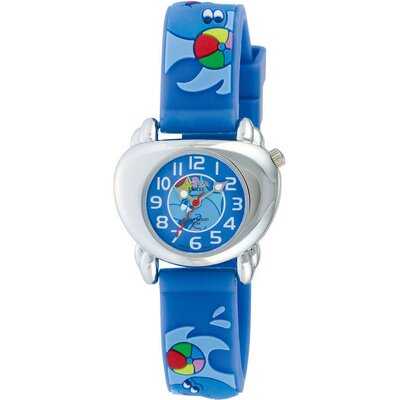 Juniors Dolphin Design Watch in Blue
