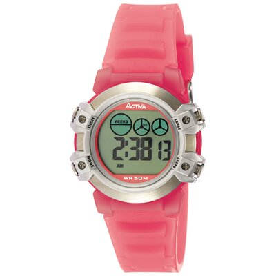 Women's Digital Watch in Pink