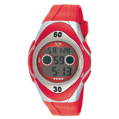 Activa Watches Men's Digital Watch in Yellow