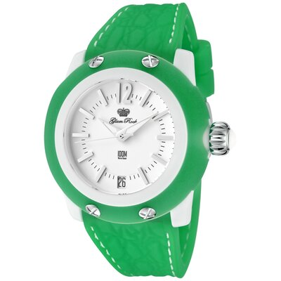 Glam Rock Women's Miss Miami Beach Watch in Green