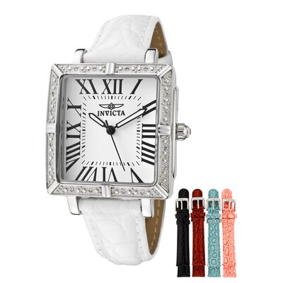 Women's Wildflower Diamond Square Watch