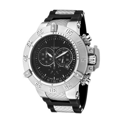 Invicta Men's Subaqua Chronograph Polyurethane Round Watch