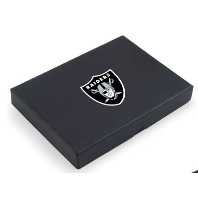 Picnic Time NFL Metro Digital Print Wine Tools in Black