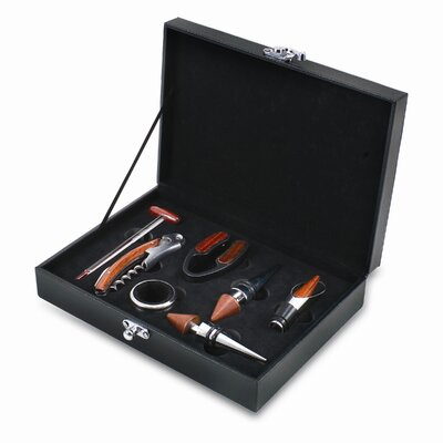 Picnic Time Grenache 7 Piece Wine Accessories Box Set