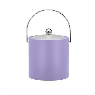 Kraftware Bartender's Choice Fun Colors 3 Qt Ice Bucket in Lavender