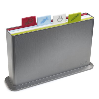 Joseph Joseph Index Advance Chopping Board Set in Silver