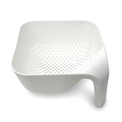 Joseph Joseph Small and Medium Square Colander in White