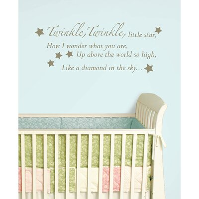 WallPops! Twinkle, Twinkle Baby Wall Wishes Decal