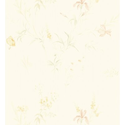 Kitchen and Bath Resource II Deeply Embossed Floral Wallpaper