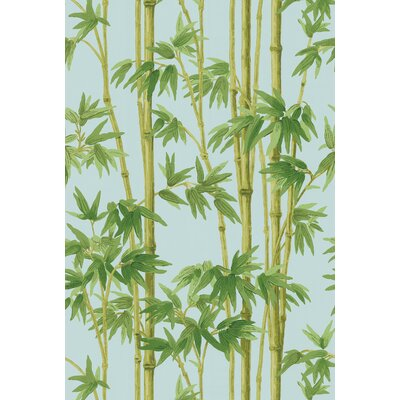 Echo Design Bamboo Wallpaper in Blue