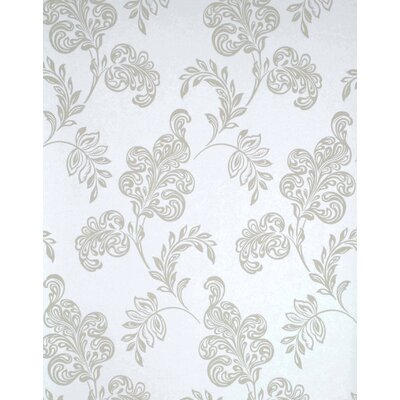 Verve Jacobean Wallpaper in Beige