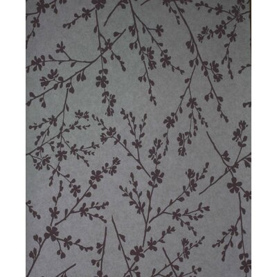 Verve Twiggy Wallpaper in Lavender / Silver