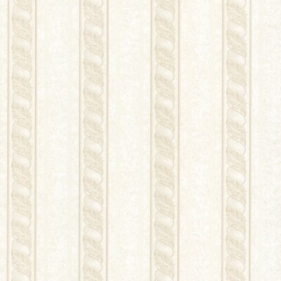 Juliette Montague Scroll Stripe Wallpaper