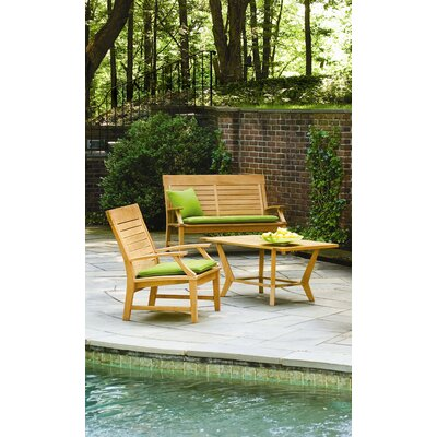 Oxford Garden Sutton Loveseat with Cushions