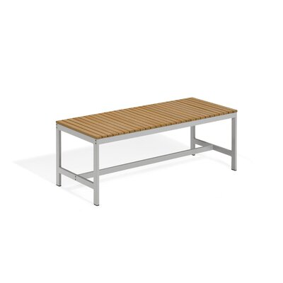 Oxford Garden Travira Wood and Aluminum Picnic Bench