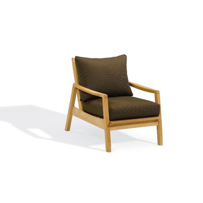 Oxford Garden Siena Club Chair with Deep Seat Cushions
