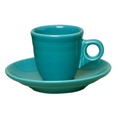 Fiesta Cookware® 3 oz. Ad Demi Cup and Saucer