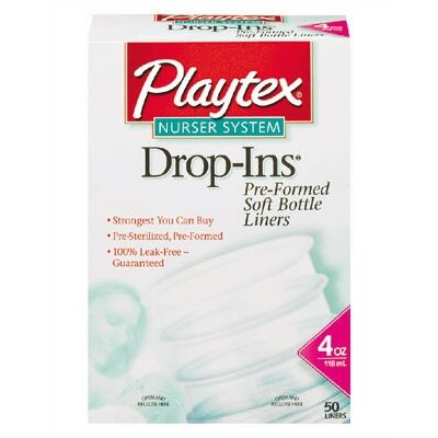 Playtex Drop-Ins Disposable Liners 4 oz