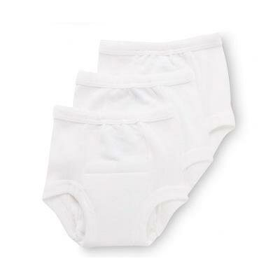 Gerber Baby Care Training Pant in White (Pack of 3)