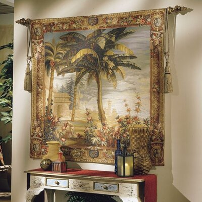 Tapestries, Ltd. Asian Palm Tapestry