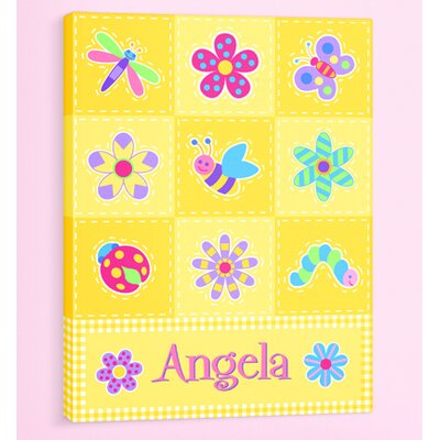 Flower Land Personalized Canvas Art