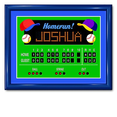 Olive Kids Game On Large  Personalized Print
